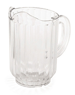 Tablecraft 332 32-oz Pitcher, SAN Plastic