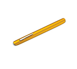 Tablecraft 518 Gold Anodized Aluminum Table Crumber w/ 6-in Pocket Clip
