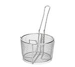 Tablecraft 987 Stainless Steel Cooking Basket, 8-1/4 x 5-in Round