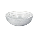Tablecraft 995C 3-Quart High Impact Styrene Salad Bowl
