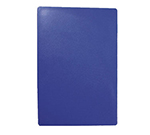 Tablecraft CB1520BLA Blue Polyethylene Cutting Board, 15 x 20 x 1/2-in, NSF Approved