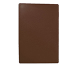Tablecraft CB1520BRB Brown Polyethylene Cutting Board, 15 x 20 x 3/4-in, NSF Approved