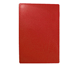 Tablecraft CB1520RA Red Polyethylene Cutting Board, 15 x 20 x 1/2-in, NSF Approved