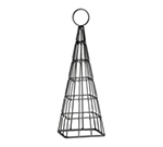 Tablecraft CHE12 12-in Black Powder Coated Metal Eiffel Tower Number Stand