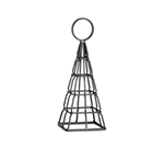 Tablecraft CHE8 8-in Black Powder Coated Metal Eiffel Tower Number Stand