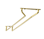 Tablecraft GHB16 16-in Brass Plated Glass Hanger