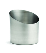 Tablecraft R44 Stainless Steel Fry Cup, 3-3/4 x 4-in
