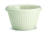 Tablecraft RAM15FB 1-1/2-oz Fluted Bone Melamine Ramekin