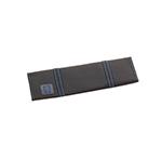 Tablecraft E1107 Black Ballistic Nylon Knife Roll, Soft, Holds 7 Knives/Tools
