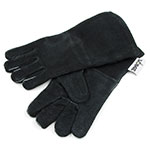 Lodge A52 Leather Gloves, Red
