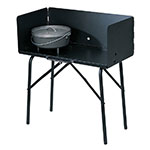 Lodge A57 Dutch Oven Cooking Table, 26 in H x 16 in W x 32 in L