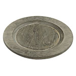 Lodge U5RP Round Wood Underliner, Walnut Stain, 9-1/2 in dia, 3/4 in H, Fits L5OGH3 Only