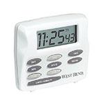Focus 40053 Triple Alert Timer, With Clock, LCD Display