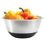 Focus 871SBK Mixing Bowl, 4 qt Capacity, Stainless Steel, Non-Skid