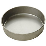 Focus 900825 Cake Pan, Round, 8 in dia x 2 in Deep, Glazed Aluminized Steel