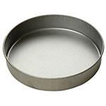 Focus 901025 Cake Pan, Round, 10 in dia x 2 in deep, Glazed Aluminized Steel