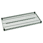 Focus FF2454G Green Epoxy Coated Shelving, 24 in D x 54 in W