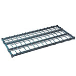 Focus FFSM2448GN Dunnage Shelf 24 in W x 48 in L, Heavy Duty, Green Epoxy