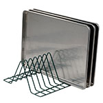 Focus FFTM184GN Tray Module, Wire, 3-13/16 in Clearance, 15-1/2 x 16-1/2 x 8 H, 4 Tray Capacity