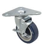 Focus FPCTR5E Heavy Duty Triangle Plate Caster w/ 500-lb Capacity, 5-in
