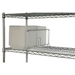 Focus FSD24C Shelf Divider, Chrome, 24 in W x 8 in H