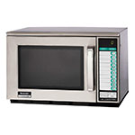 Sharp R22GTF Microwave Oven, Heavy Duty, All Stainless, SelectaPower, 1200 W