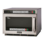 Sharp RCD2200M TwinTouch Commercial Microwave Oven, 2200W, SS, Defrost, 230/208V