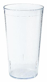 GET 6616-2-CL 16 oz Tumbler, Textured, Stackable, Clear
