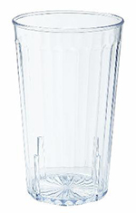GET 8820-CL 20 oz Tumbler, Textured, Stackable, Spektrum, Clear