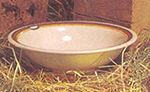 GET B-167-RD 16 oz Bowl, 7-1/2 in, Melamine, Rodeo