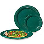 GET BF-090-KG 9 in Dinner Plate, Melamine, Kentucky Green