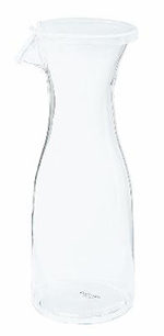 GET BW-1050-CL 1/2 Liter Wine/Juice Decanter w/Lid, Clear