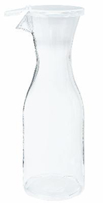 GET BW-1100-CL 1 Liter Wine/Juice Decanter w/Lid, Clear