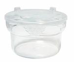 GET CR-1000-CL 1.5 qt Salad Crock w/Lid, Polycarbonate, Clear