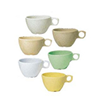 GET DC-100-Y 7-1/2 oz Ovide Cup, Melamine, Yellow