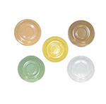 GET DC-200-T 5-3/4 in  Saucer, Melamine, Tan, Supermel
