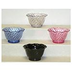GET DD-50-BLU 5 oz Dessert Dish, SAN Plastic, Blue