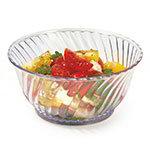 GET DD-80-CL 10 oz Dessert Dish, SAN Plastic, Clear