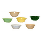 GET DN-313-G 13 oz Grapefruit Bowl, 5-5/8 in, Melamine, Green, Supermel