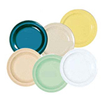 GET DP-508-HG 8 in Lunch Plate, Melamine, Hunter Green, Supermel