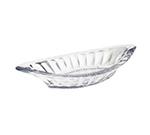 GET ICM-27-CL 8 oz Banana Split Dish, SAN Plastic, Clear