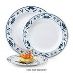 GET KT-415-B 12 in Dinner Plate, Melamine, Dynasty Water Lily