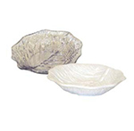 GET LE-900-W 9 in Leaf Platter, SAN, White