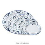 GET M-4030-B 12-1/4 in x 8-7/8 in Oval Platter, Melamine, Dynasty Water Lily