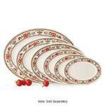 GET M-4030-CG 12-1/4 in x 8-7/8 in Oval Platter, Melamine, Dynasty Garden
