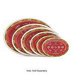 GET M-4030-L 12-1/4 in x 8-7/8 in Oval Platter, Melamine, Dynasty Longevity