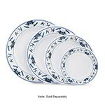 GET M-5050-B 8 in Lunch Plate, Melamine, Dynasty Water Lily