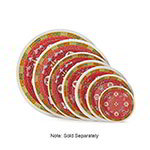 GET M-5090-L 10 in Dinner Plate, Melamine, Dynasty Longevity