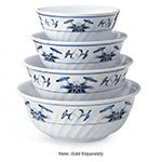 GET M-607-B 32 oz Bowl, Melamine, Dynasty Water Lily