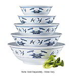 GET M-814-B 92 oz Bowl, 11 in, Melamine, Dynasty Water Lily